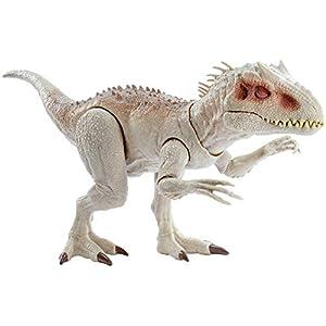 Jurassic World- Indominus Rex Dinosauro con Luci e Suoni Giocattolo per Bambini, 4 + Anni, GCT95 1 spesavip