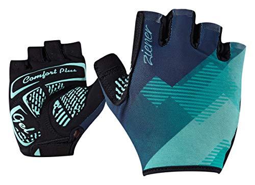 Ziener Damen CALEN bike glove Fahrrad-/Mountainbike-/Radsport-Handschuhe | Kurzfinger mit Sonnenschutz - atmungsaktiv/dämpfend