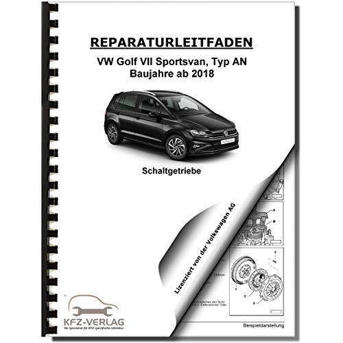 VW Golf 7 Sportsvan AN (18>) 5 Gang Schaltgetriebe 0AH Kupplung Reparaturanl.