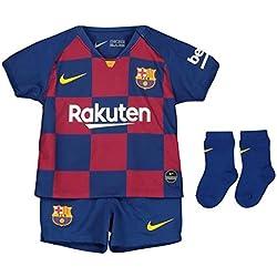 Nike FCB I Nk BRT Kit Hm Football Set, Unisex niños, Deep Royal Blue/(Varsity Maize) (Full Sponsor), 6-9M