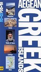 Aegean Greek Islands (AA Spiral Guides) by George McDonald (2003-01-02)