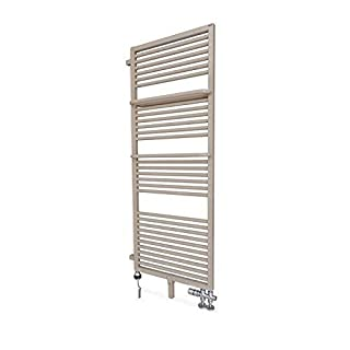 Anapont Elektro-Raumteilbadheizkörper Echo Designer Radiator including Heating Element and Heating Ktx 2 in Different Sizes - 1560h x 500b