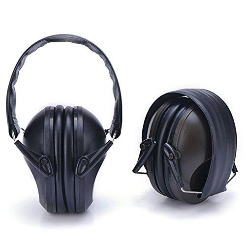 Jiayuane Professionelle Gehörschutz-Sicherheits-Ohrenschützer Langlebiger und komfortabler Gehörschutz Passt Erwachsenen zu Kindern (Muff Kit)
