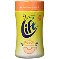 Lift Instant Peach Flavoured Tea 300 g (Pack of 6)