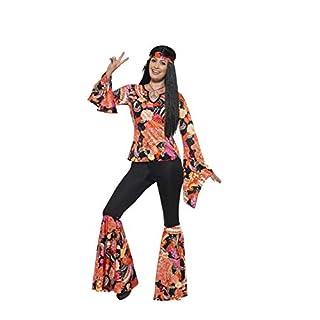 5f87f284f9d Smiffys 45516L - Damen Hippie Kostüm