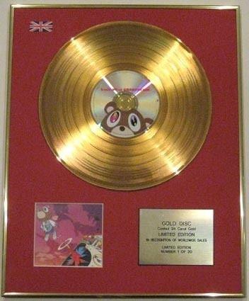 Motive Cd (Century Music Awards Kanye West-ltd Edtn disc-24Karat, Motiv CD, Farbe: Gold)