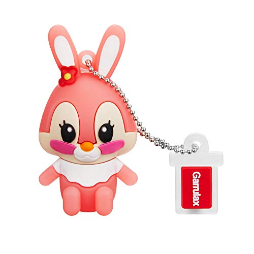 GARRULAX USB Stick, Premium USB 2.0, High Speed Cute Tier Niedliches Silikon 8GB / 16GB / 32GB USB-Flash-Laufwerk Wasserdicht Memory Stick Speicherstick
