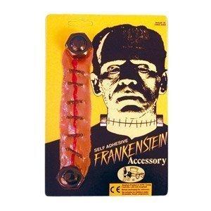 en + Wunde (Frankenstein Kostüme Schrauben)