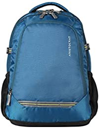Aristocrat Gusto Fabric 30 Ltrs Blue Laptop Backpack (LPBPGUS2BLU)