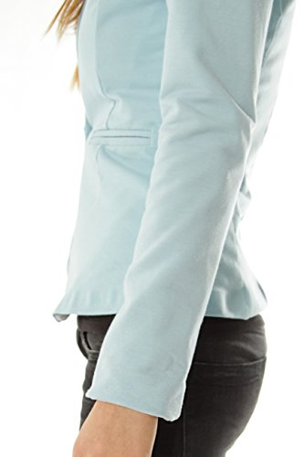 Bestyledberlin blazer femme, veste ja41p Noir