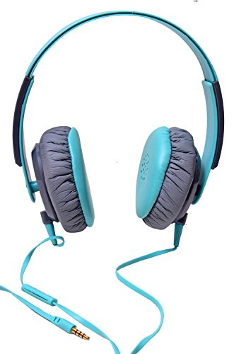 Valentines Special Hangout Stereo Headset-HOH-90-Blue