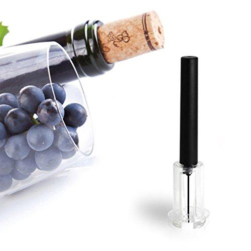 Autone High End Pneumatische Wein Flaschenöffner, schwarz Kork Entferner leicht Air Pumpe Druck