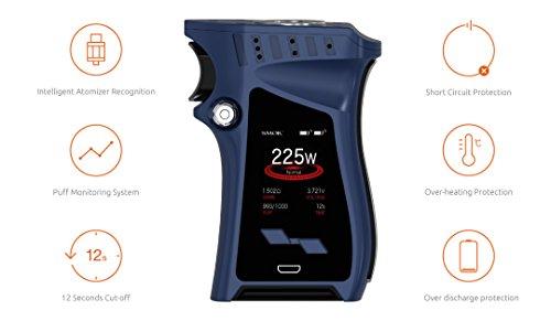 Smoktech SMOK Mag Kit 225W Mod mit 8ml TFV12 Prince Tank ohne Nikotin Farbe: Schwarz-Rainbow
