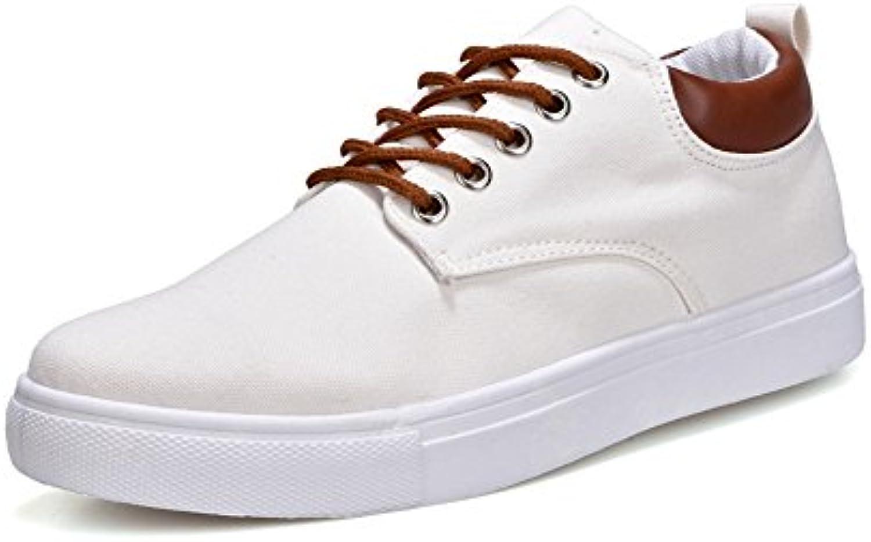 XIE Segeltuchschuhe Männer Wilde Freizeitschuhe Trend Große Größe Schuhe 39 46