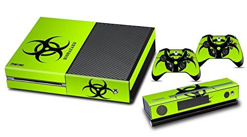 Jeux Xbox One Peaux Console Xbox One Vinyle Autocollants Accessoire Xbox One + Deux Décalcomanies Pour les Dualshock Controleurs - Biological Hazard