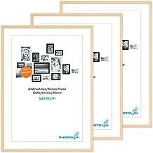 Bevorzugt Posterrahmen Holz Bilderrahmen - Suchergebnis auf Amazon.de für RU88