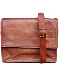 NK Vintage Leather Brown Unisex Sling Bag
