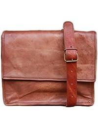 NK Vintage Leather Brown Unisex Sling Bag