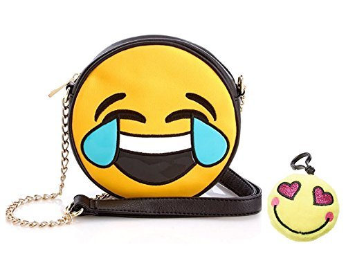 emoji-2-piece-girls-vinyl-purse-set-tears-of-joy