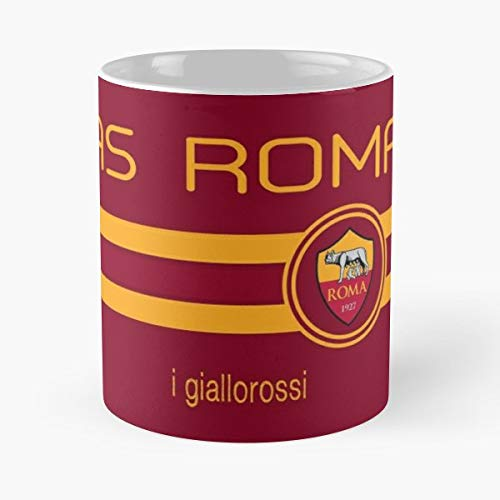 Football Serie A As Roma I Giallorossi Totti Italy Soccer 2016 2017 - Bestes 11 Unze-Keramik-Kaffeetasse Geschenk