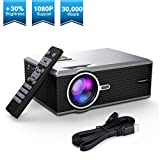 Best Home Theater Projectors - FLOUREON Home Theater Video LCD Projector Portable 30% Review