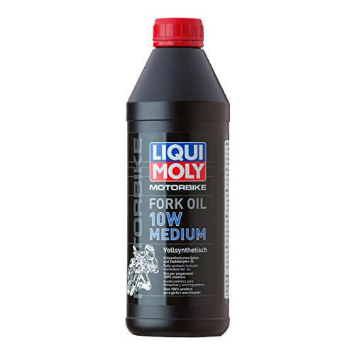 Liqui Moly 2715 Huile pour Fourche Medium 10W de Moto, 1 L pas cher