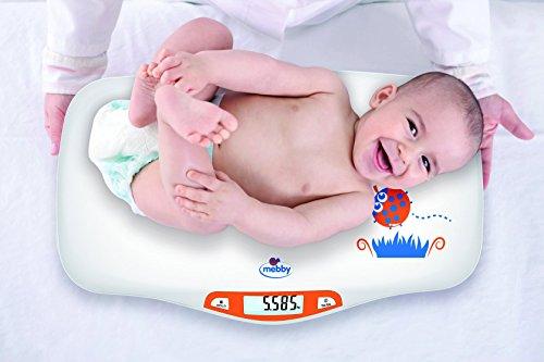 Mebby 95136. ersten Gewichte Waage pesa-neonati mit Funktion von Stopper gewogen - 3