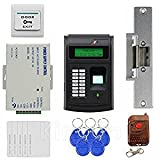 Fernbedienung 125kHz RFID Fingerabdruck Tastatur ID Kartenleser Access Control Kit