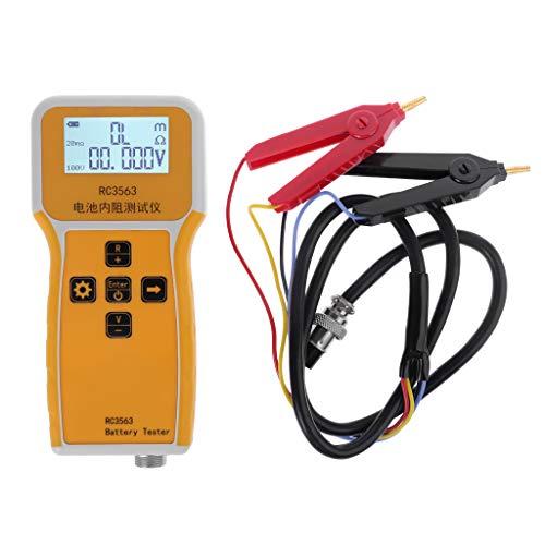 Batterietester RC3563 Handgerät für Kfz Blei-Säure-Batterie Trockenzelle - Lithium-batterie-ladegerät Cr2