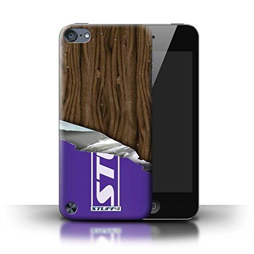 Stuff4® Hülle/Hülle für Apple iPod Touch 5 (5th Generation) / Eingewickelt Flake Muster/Schokolade Kollektion -