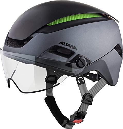 Alpina Unisex– Erwachsene Altona M Fahrradhelm Charcoal-anthr. 57-62 cm