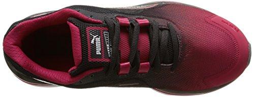 Puma Faas 500 V4, Chaussures de Course Femme Rouge (Rose Red/Periscope/Black)