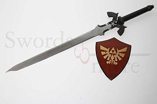Swords and more Twilight Princess Zelda Link Master Schwert - Schwarz (Master Link Schwert)
