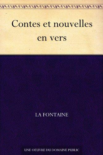 Couverture du livre Contes et nouvelles en vers