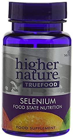 Higher Nature True Food Selenium Tablets - Pack of 60