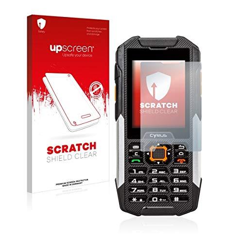 upscreen Scratch Shield Clear Bildschirmschutz Schutzfolie für Cyrus cm 16 (hochtransparent, Hoher Kratzschutz)