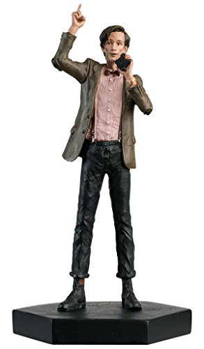 Doctor Who Figurine Collection - Figure #1 - 11th Doctor Who Matt Smith - Hand Painted 1:21 Scale Model - Collector Boxed by Eaglemoss / Doctor Who