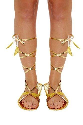 Henbrandt Sandalias Romanas Zapatillas Pantuflas Medieval Egipcio Griego Gladiador Disfraz