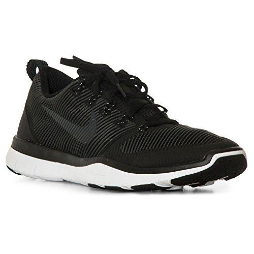 Nike Herren Free Train Versatility Hallenschuhe, Schwarz (Black/Black-White), 44.5 EU (Nahtloses Trikot)