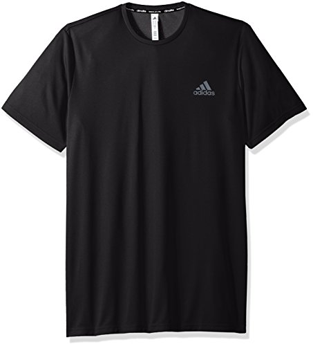 Adidas Mens Essentials Tech Tee- Big & Tall Black