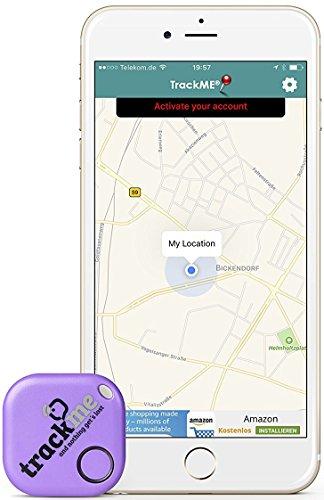 trackme Schlüsselfinder Kostenloser IOS-Android-App Tracker als Schlüsselanhänger