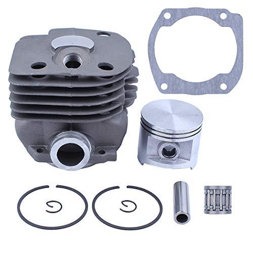 Haishine NIKASIL Plated Cylinder Piston Bearing Guarnizione 50mm Kit Fit Husqvarna 365 371 372 XP 362 Motosega 2 Tempi Parti...