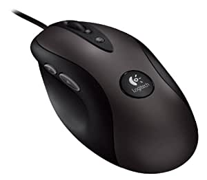 Logitech G400 Optical Gaming Wired Mouse (Black)