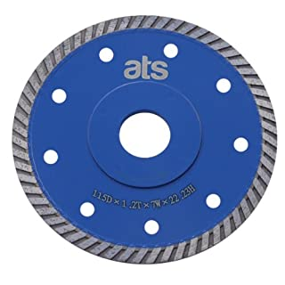 ATS 115mm x 22.23mm Turbo flange Porcelain Tile Diamond Blade