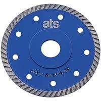 ATS 115mm x 22.23mm Turbo flange Porcelain Tile Diamond Blade