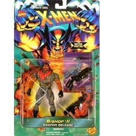 Flashback Series Serie X-Men - Bishop II with Trading Card (Xmen Trading Card Game)