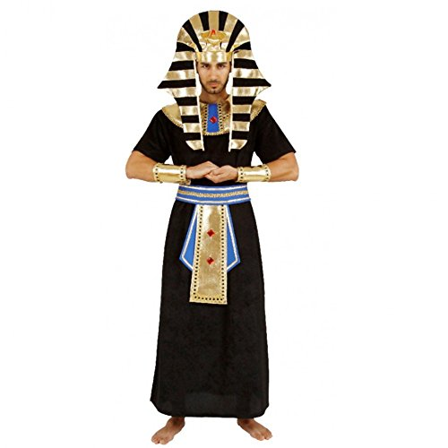 Kostüm Pharao, Ägyptischer Herrscher Ramses (X-Large) (Ramses Kostüm)