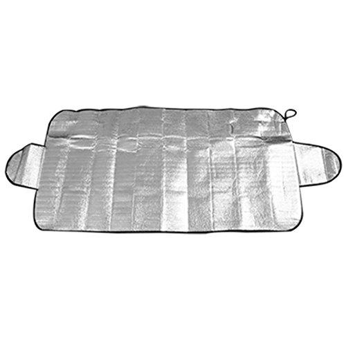 Preisvergleich Produktbild sourcingmap® Silber Aluminium Folie Schnee Hitze resistent Auto Scheibe Sonnenschirm
