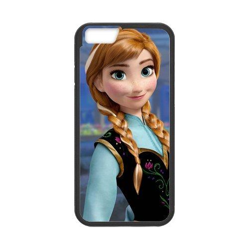 """Disney Frozen, Elsa, Anna, Olaf en silicone TPU pour Apple iPhone 6S (4,7""""inch), étui iphone 6S Hard Case Cover, iPhone 6(4.7inch) Case, beau design Coque de protection pour Apple iP"""