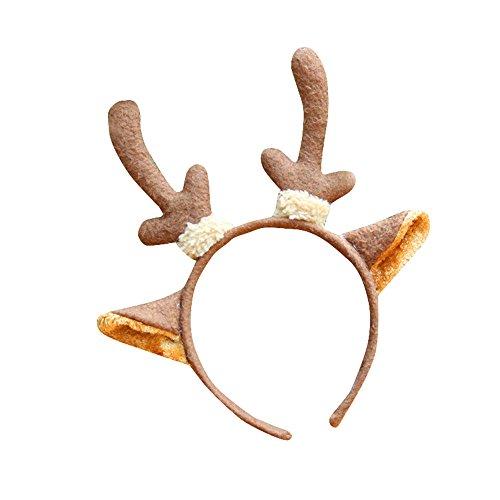Weihnachten Stirnband Hoop Piebo Santa Xmas Party Haarband Schließe (Mehrfarben (F Up Dress)
